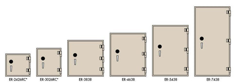 Socal Safes - Bridgeman ER TL-15 Plate Steel Safe - ER-7438, Commercial Safe