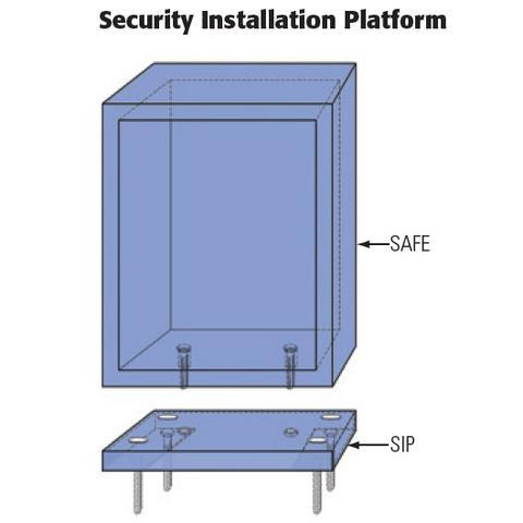 Socal Safes International Eurovault EV3417  Burglar And Fireproof Safe,