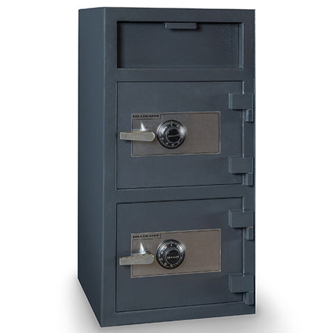 Hollon B-Rated Double Door Depository Safe FDD-4020CC - USA Safe & Vault