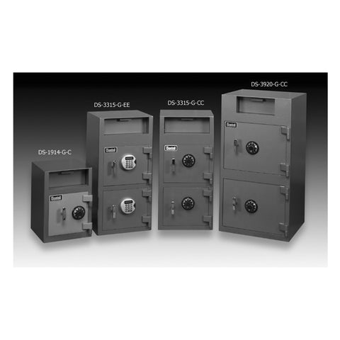 Gardall Economical Depository Safe DS3315-G-CC-KK - USA Safe And Vault