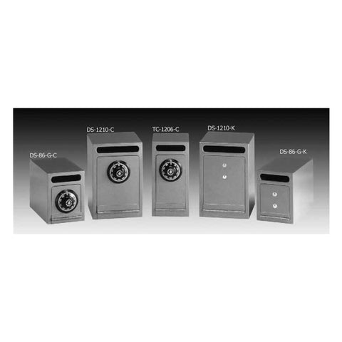 Gardall Heavy Duty Under Counter Depositories DS1210-G-C - USA Safe And Vault