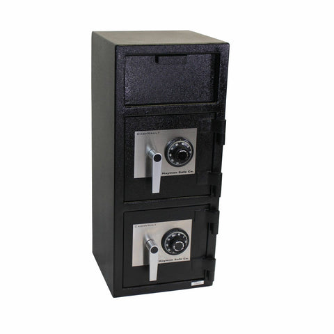 Hayman Front Loading Double Door Deposit Safe CV-F32-2CC - USA Safe And Vault