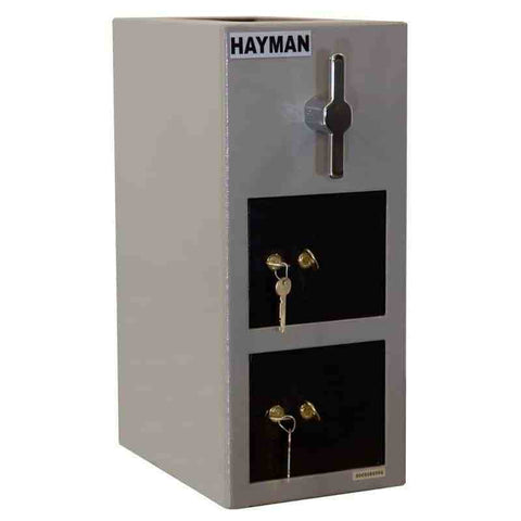 Hayman Safe Cash Vaults Top Load Depository Safe-Double Door CV-H19-2 KK - USA Safe And Vault
