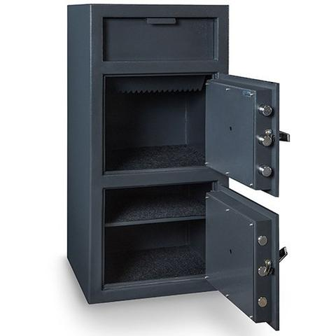Hollon Safe Double Door Depository Safe FDD-4020EE - USA Safe And Vault