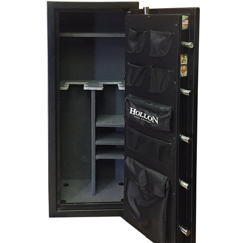 Hollon 75 Minute Fire Resistant Crescent Shield Gun Safe CS-12 - USA Safe And Vault