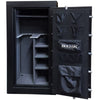 Image of Hollon Republic 75-Minute Fire-Resistant Crescent Shield Gun Safe CS-24 Black - USA Safe And Vault
