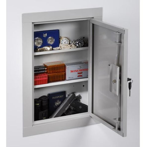 Stack-On In-Wall Security Cabinet – 22″, - USA Safe and Vault