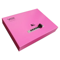 "V-Line Top Draw - Pink ""Limited Edition"" Security Safe 2912-S-PNK"