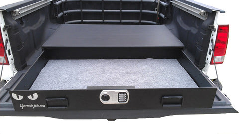 Monster Vault Dual Lock Underbed or Full Size Vehicle Safe 4828