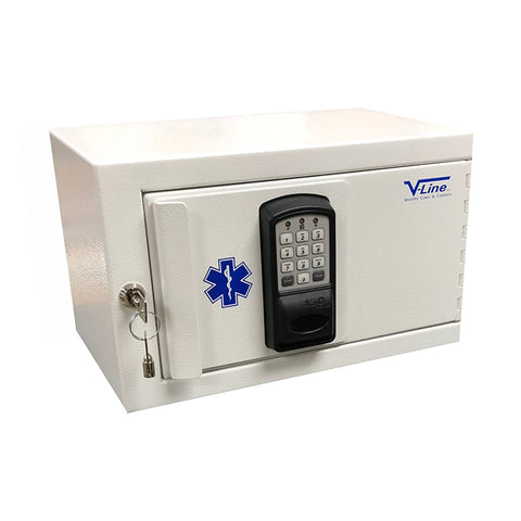 V-Line Narcotics Security Box-HID Prox Card Reader Security Safe