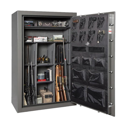 Winchester Ranger 44 UL-Certified 1-Hour Fire Rated Long Gun Safe, Gunmetal - USA Safe And Vault