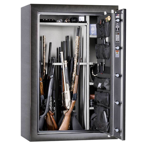 Rhino CD Series 80-Minute Fireproof 54 Gun Safe CD6040XGL - USA Safe And Vault