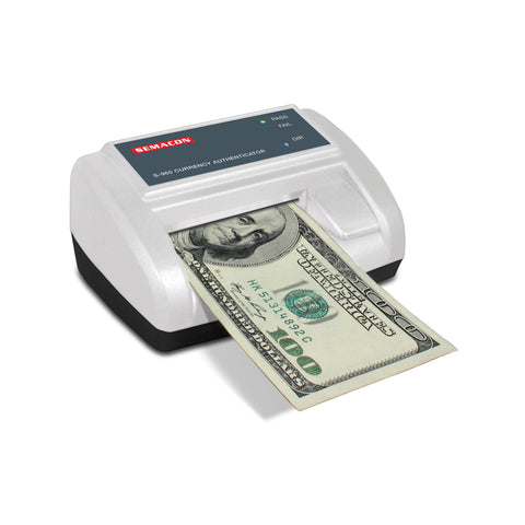 Semacon Compact Cordless Counterfeit Currency Detector S-960 - USA Safe & Vault