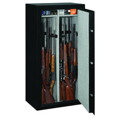 Stack-On 22-Gun Capacity Steel Security Safe, High Gloss Black SS-22-MB-C
