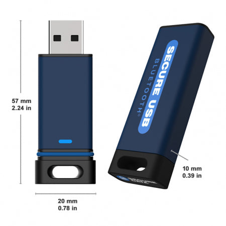 SecureUSB® BT Hardware Encrypted USB Flash Drive - USA Safe & Vault