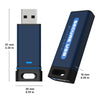 Image of SecureUSB® BT Hardware Encrypted USB Flash Drive - USA Safe & Vault