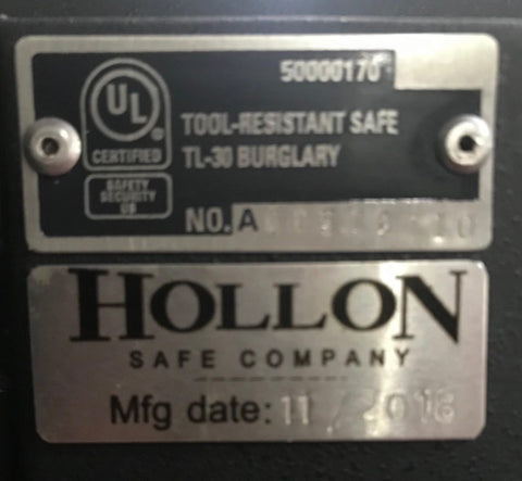 Hollon TL-30 Burglary Home Safe MJ-1014E - USA Safe & Vault