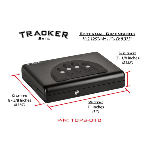 Tracker TOPS-01C - Top Opening Pistol Safe, - USA Safe and Vault
