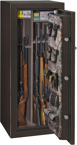 Stack-On Woodland 22-24 Gun Safe W-24-BH-E-S - USA Safe And Vault