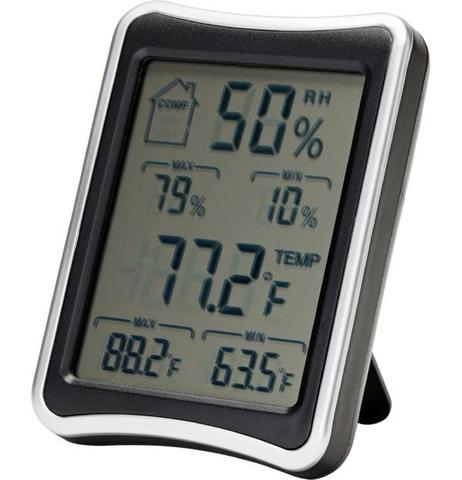 Hygrometer - Displays temperature and humidity (+$31.99) - USA Safe And Vault