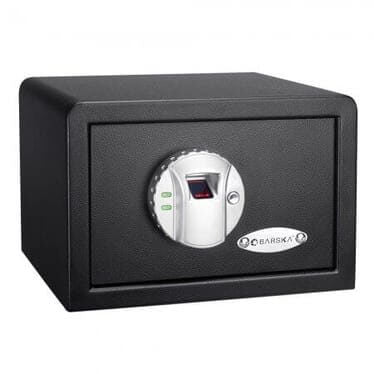 Barska Compact Biometric Security Safe with Fingerprint Lock AX11620 - USA Safe And Vault