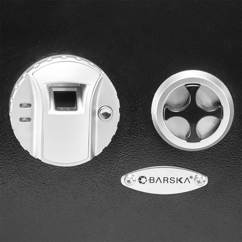 Barska Biometric Wall Safe (Left Opening) AX13034 - USA Safe & Vault