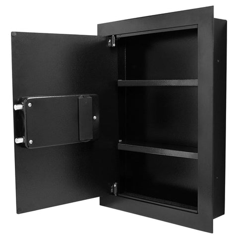 Barska Biometric Wall Safe (Left Opening) AX13034 Available on Backorder - USA Safe And Vault