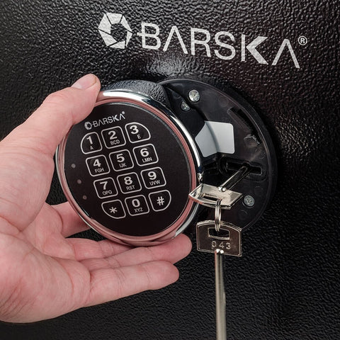 BARSKA 3.51 Cubic Foot Fire Vault Safe AX13102 - USA Safe And Vault