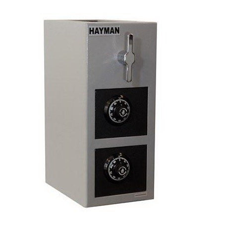 Hayman Safe Double Door Rotary Depository Safe CV-H19-2CC