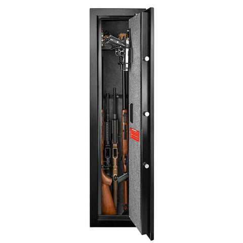 Barska Quick Access Large Biometric Rifle Safe, - USA Safe and Vault