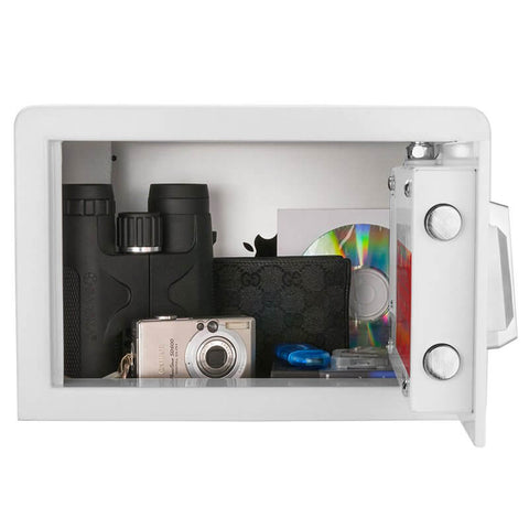 Barska Compact Biometric Safe BX-100 White, - USA Safe and Vault