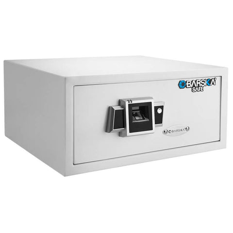 Barska Biometric Fingerprint Safe BX-300 White AX12404, - USA Safe and Vault