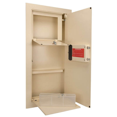Barska Large Biometric Wall Safe, - USA Safe and Vault
