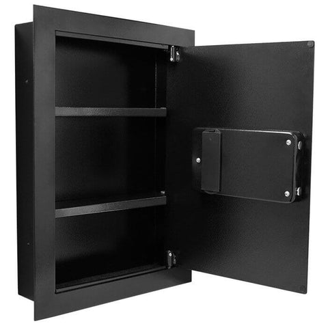 Barska Biometric Wall Safe (Right Opening Door), - USA Safe and Vault