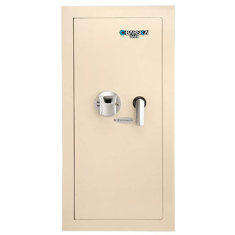 Barska Large Biometric Wall Safe (Left Opening) AX12880 - USA Safe And Vault