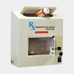 Protex B-rated Black Depository Safe RX-164