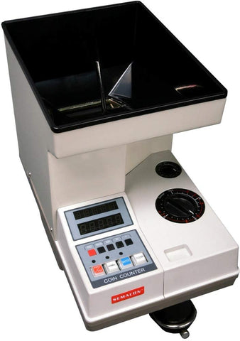 Semacon Electric Coin Counter S-140 - USA Safe And Vault
