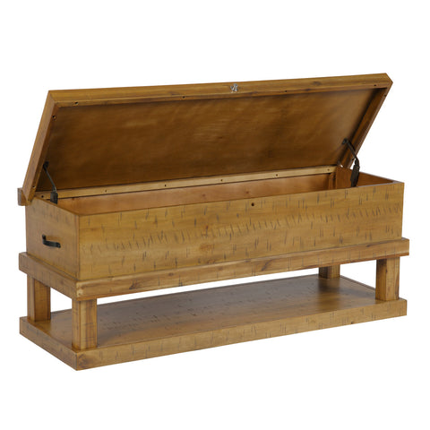 American Furniture Classics Wooden Gun Concealment Coffee Table with lock 529