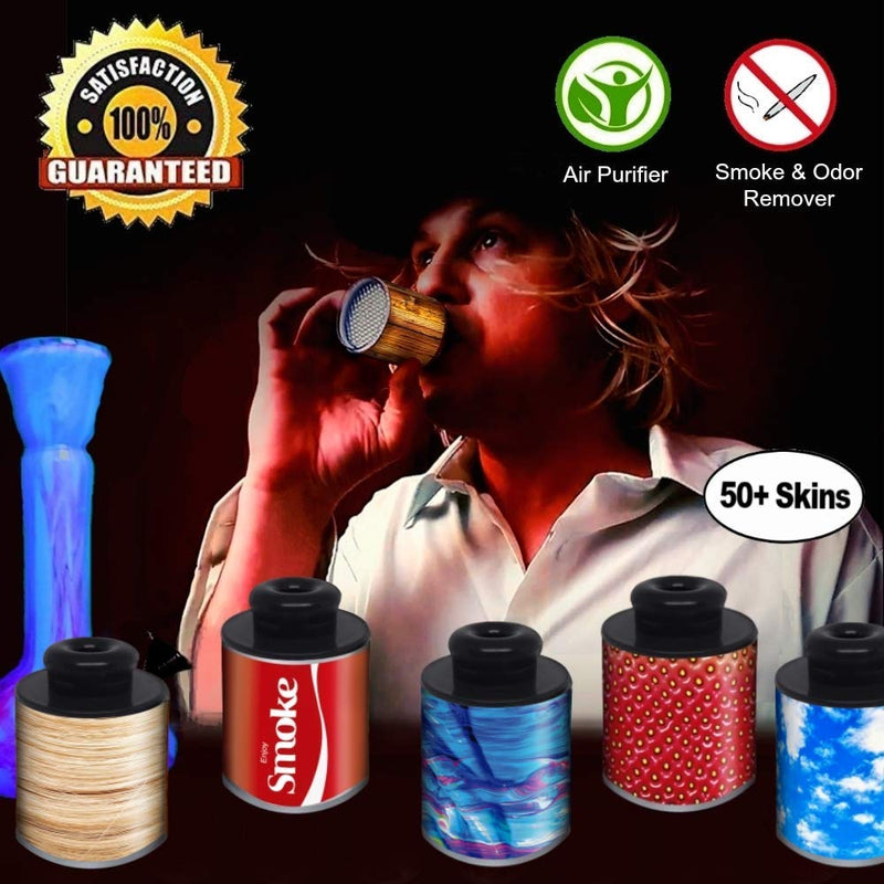 AOC- Smoke Eraser V3- Gets 1400 Exhales, 5X Any Other Sploof. Value Unmatched at Only 1 Cent per Hit. HighTimes 5 Star Rating. Keeps Moisture from HEPA Quadrupling Lifespan via Patent Pending Pre-Filter. Conceals All Odor & Smoke.