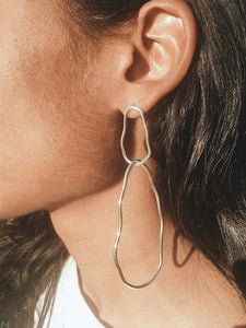 Paul asymmetric earrings