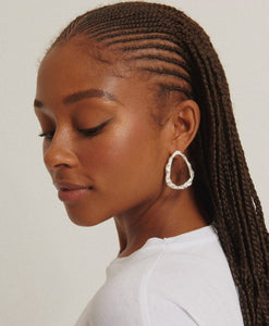 Melt drop earrings