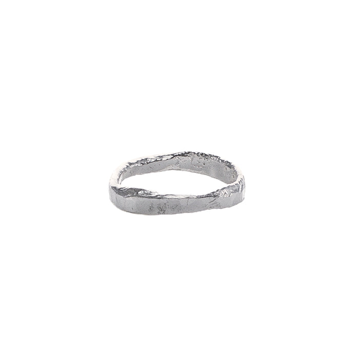 Melt hammered ring