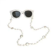 Load image into Gallery viewer, Sunglasses pearl chain