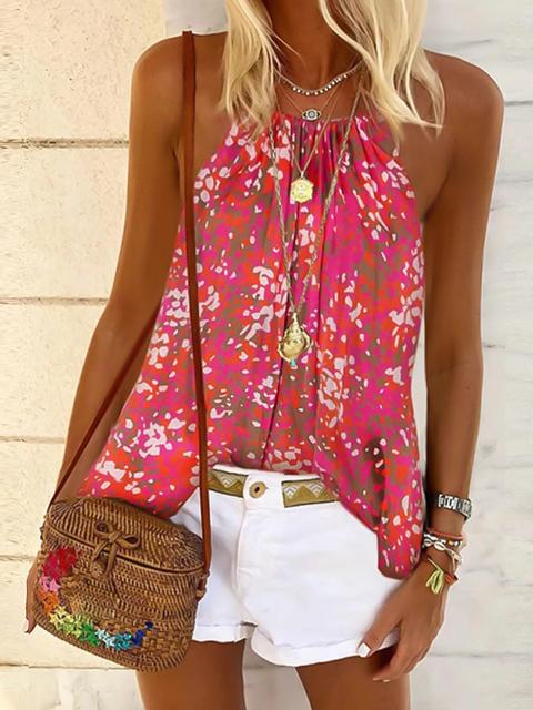 Stylish Printed Loose Camisole