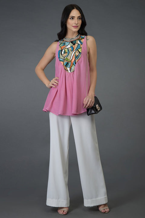 CARNATION BLINK TUNIC TOP