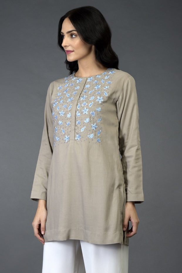 STARFISH RESHAM TUNIC TOP
