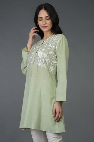 ASIATIC GREEN TUNIC TOP