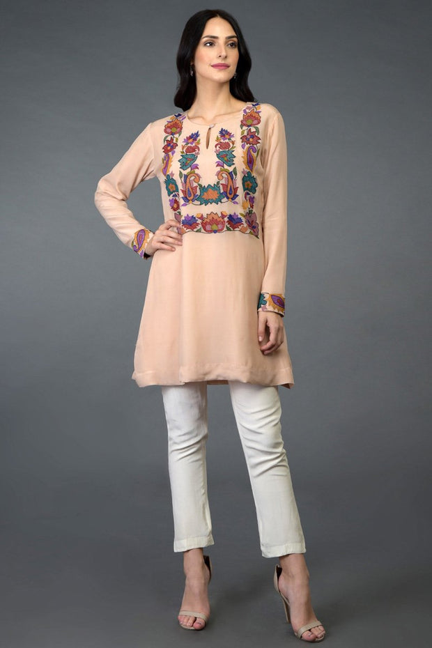 TEA ROSE TUNIC TOP