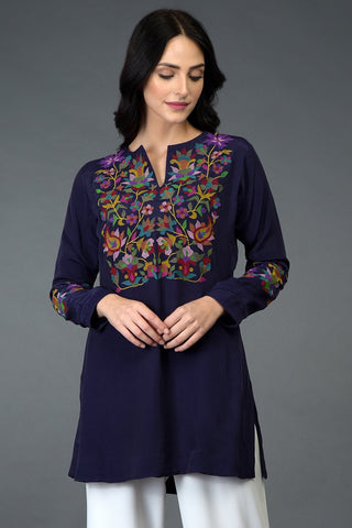 FLORAL MUSE TUNIC TOP
