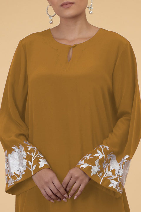MUTED BIRDS KAFTAN